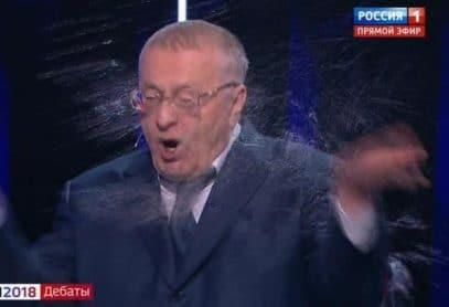 Собчак и ее муж прокомментировали матерную перепалку с Жириновским  (ВИДЕО)