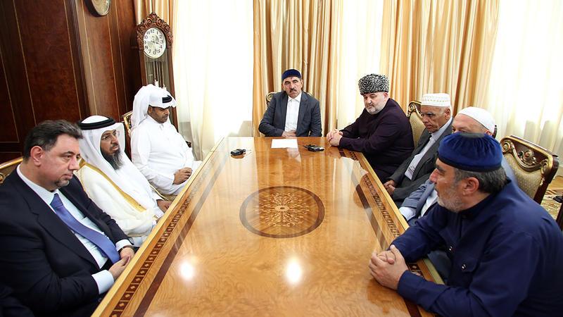 Визит делегации Катара в Ингушетию в 2016 году