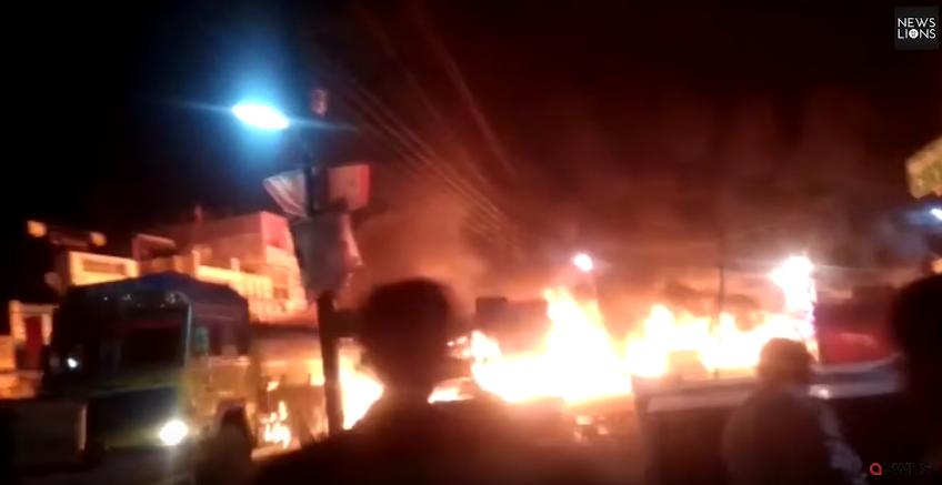 «Огненный заезд» Саджид Хана попал на видео