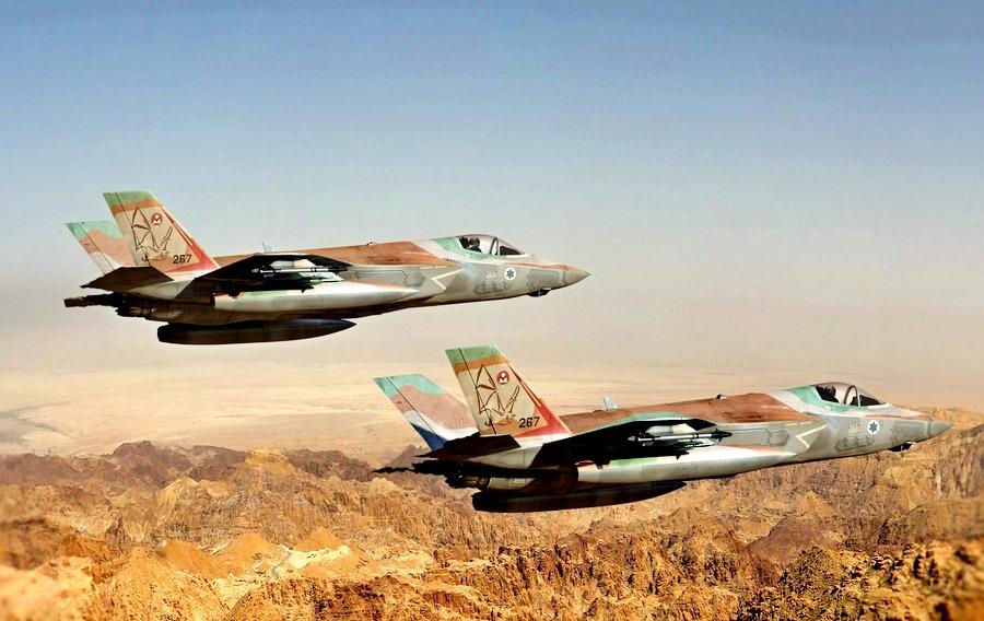 Израильские истребители F-35