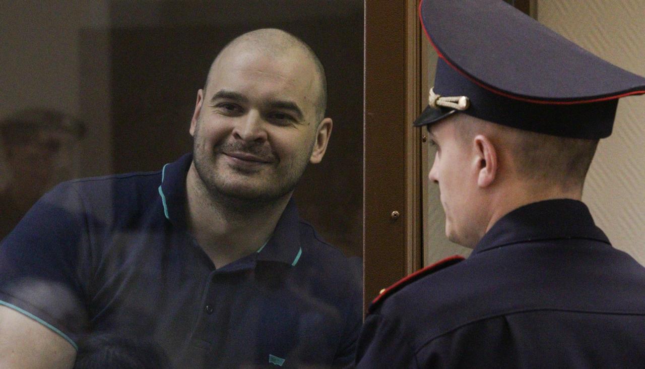 Лидер банды «Реструкт» Максим «Тесак» Марцинкевич