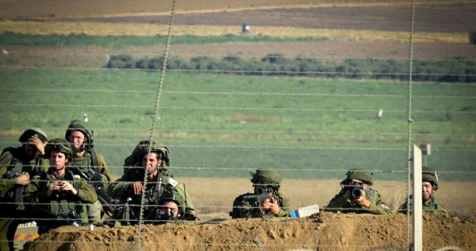 На границу с Газой переброшена сотня израильских снайперов