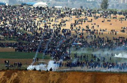 Израильские силовики расстреляли мирную акцию в Газе, 15 погибших (ВИДЕО)