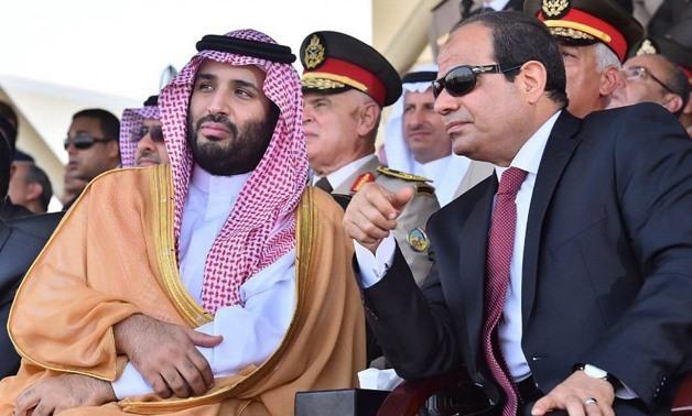 Наследный принц КСА и президент Египта