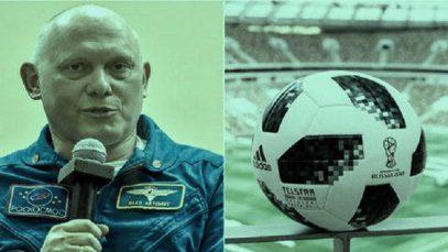 Россия и Саудовская Аравия будут играть с мячом из космоса