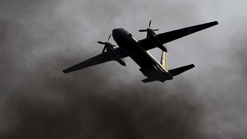 В Сирии разбился российский Ан-26, десятки погибших