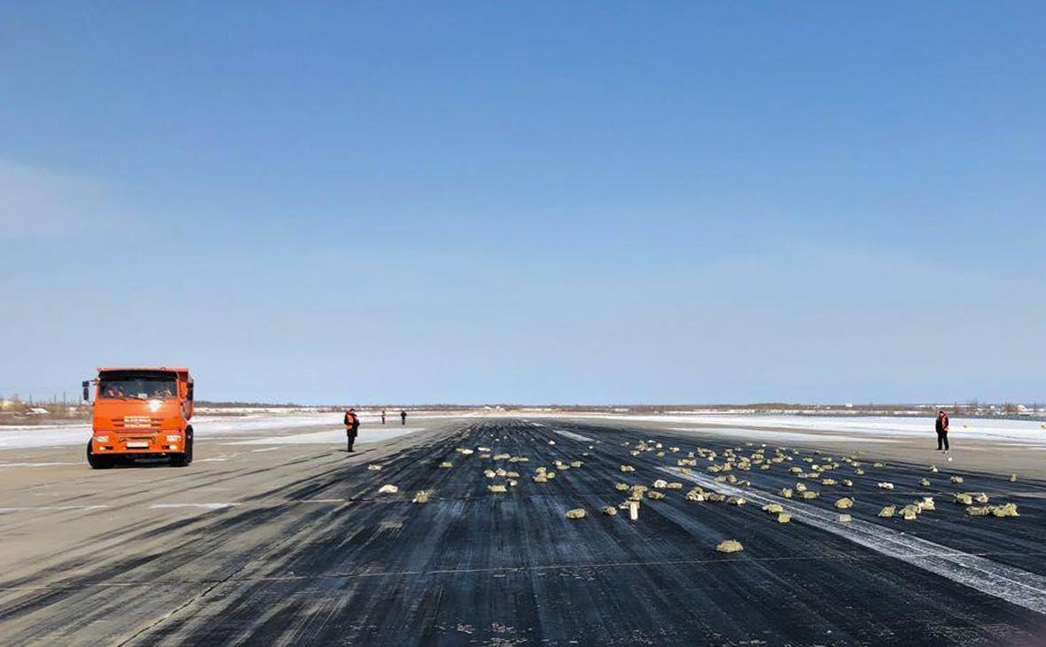 В Якутии из самолета высыпались тонны золота