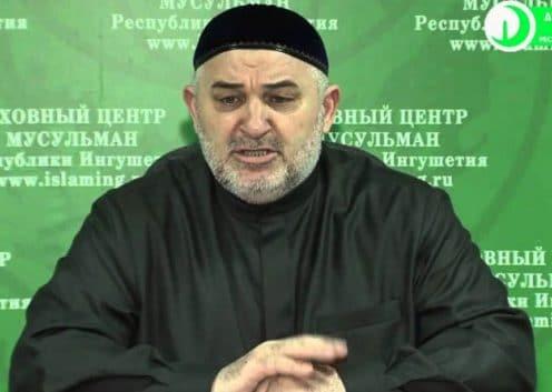 Прокуратура вынесла предупреждение муфтию Ингушетии