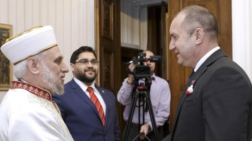 Встреча президента и муфтия Болгарии
