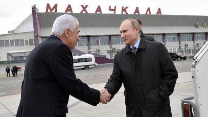 Путин проинспектировал Дагестан