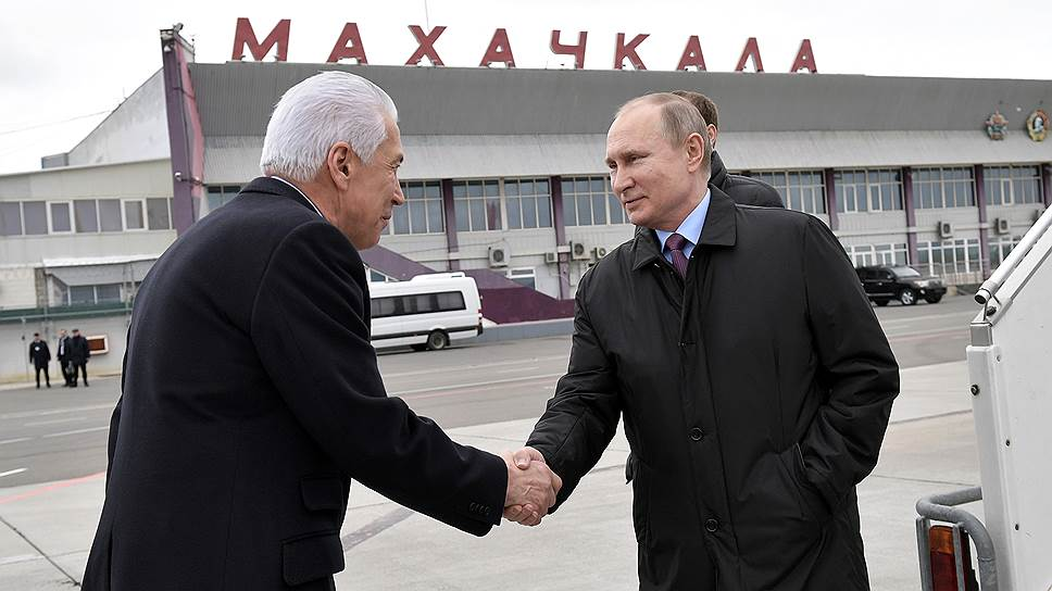 Владимир Путин и Владимир Васильев. Фото: РИА Новости
