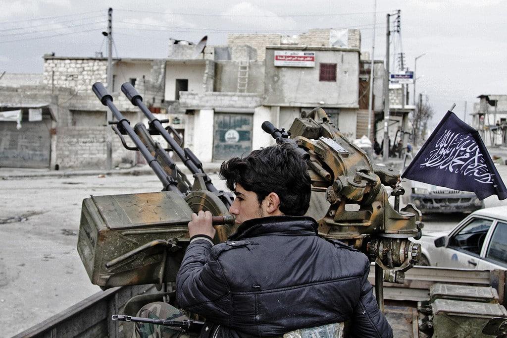 Члены сирийских НВФ