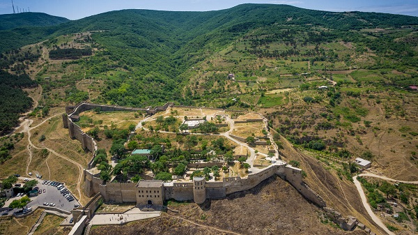 Крепость Нарын-Кала в городе Дербент