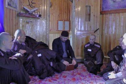 Сибирский имам рассказал заключенным, как стать Коран-хафизами (ВИДЕО)