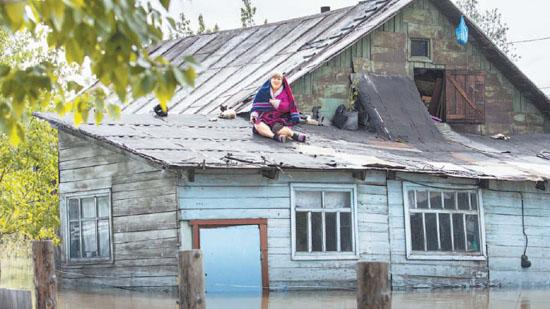 Мечеть пришла на помощь спасателям и жертвам наводнения на Алтае