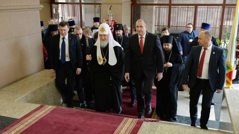 Патриарх выразил президенту свое несогласие с позицией Болгарии