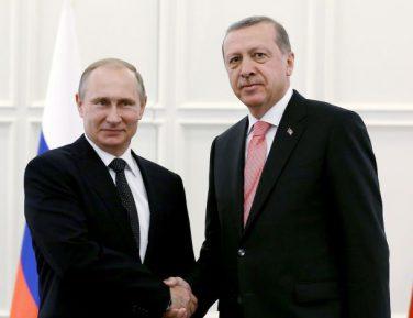 Эрдоган поздравил Путина с уверенной победой