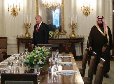 Дональд Трамп не нашел для принца Мухаммада бин Салмана халяльного мяса