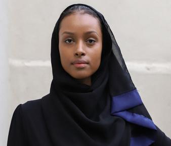 Модель в хиджабе дала фору Кейт Мосс