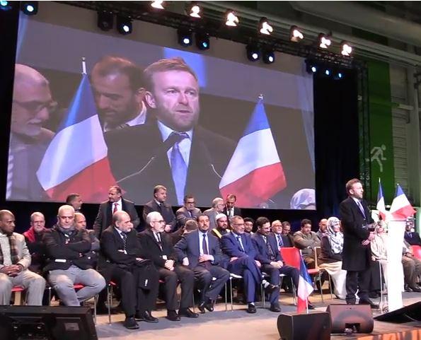 На закрытии форума «Мусульман Франции»