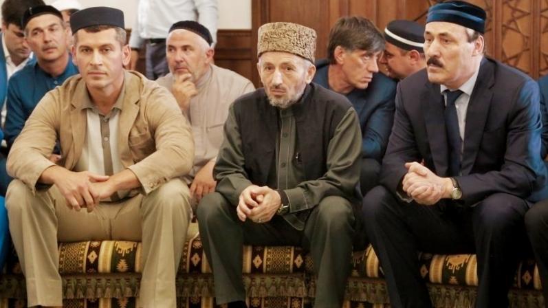 Зиявудин Магомедов (слева), муфтий Дагестана и экс-глава республики