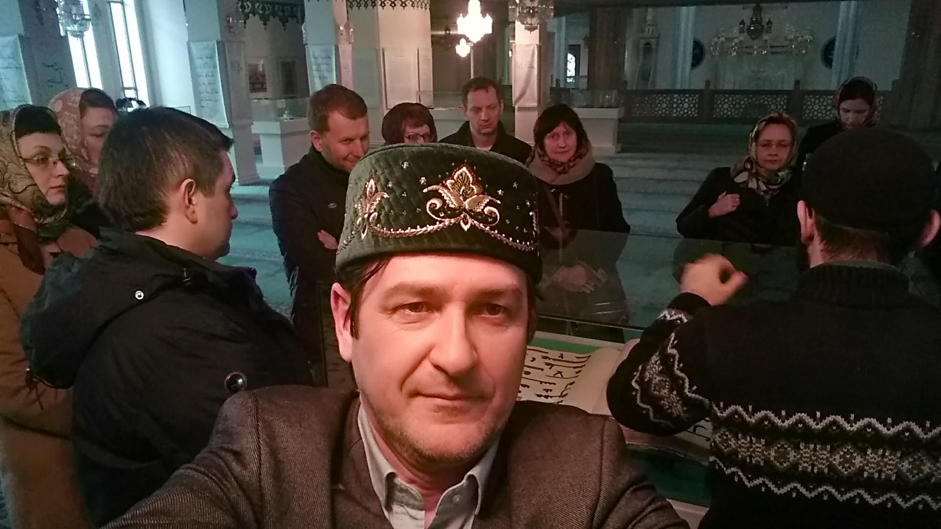 Организатор Радик Амиров и его коллеги. Фото Радика Амирова