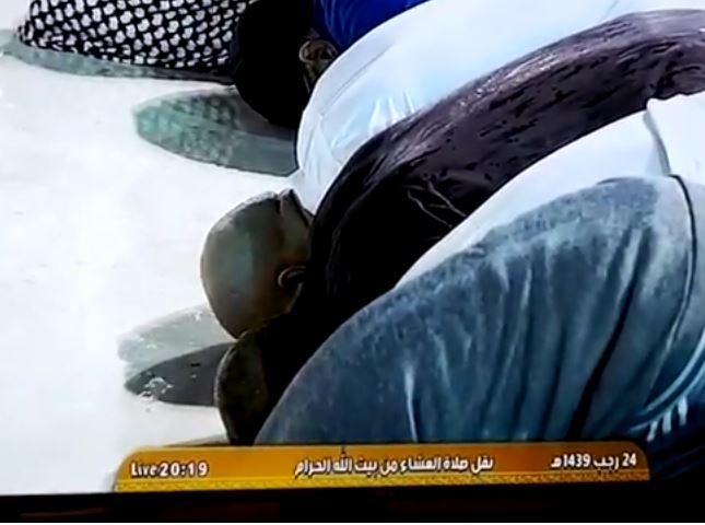 В Заповедной мечети под проливным дождем (ВИДЕО)