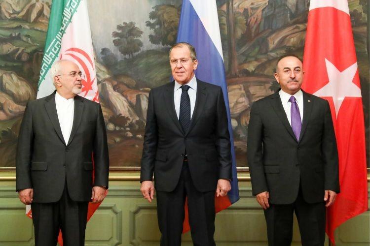 Россия, Турция и Иран выступили против расчленения Сирии