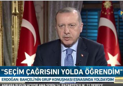 Эрдоган объясняет спешку стремлением как можно быстрее активировать конституционные изменения