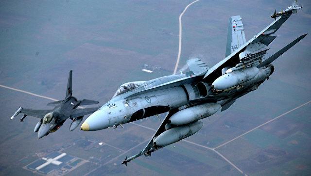 Самолеты НАТО. Фото: AP Photo / Mindaugas Kulbis