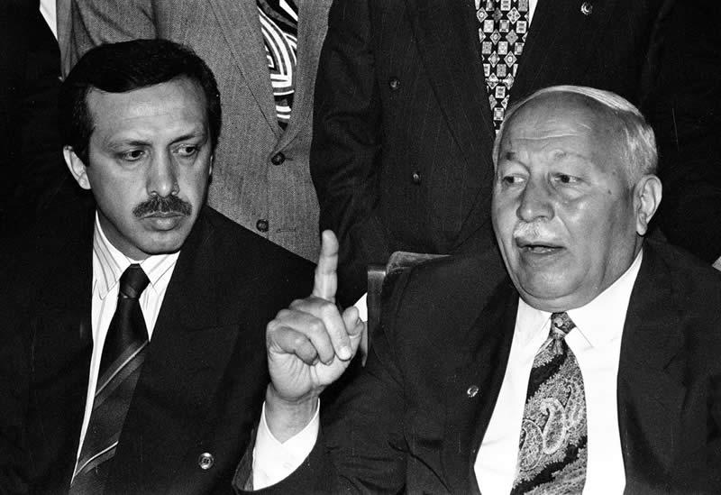 Эрбакан и Эрдоган, 1996 год.