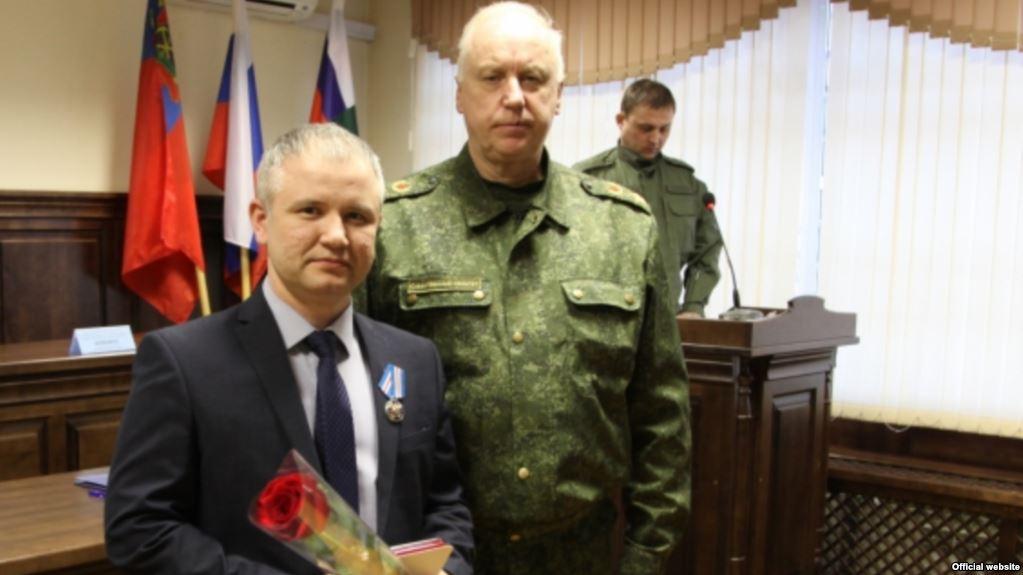 Глава СКР наградил таджика после обращения Соловьева
