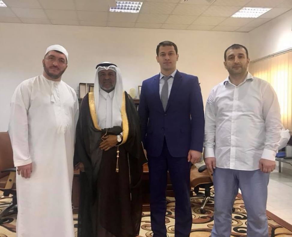 Дагестанская делегация на встрече с ректором. Фото Ш.Гусейнова