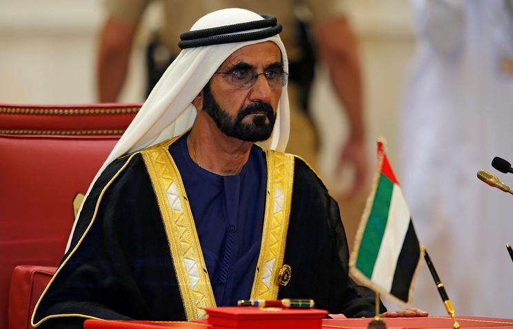 Вице-президент и премьер-министр ОАЭ, правитель Дубая шейх Мухаммед бен Рашид Аль Мактум