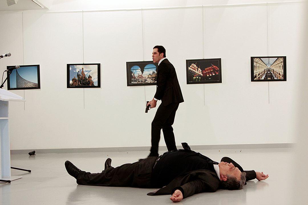 Алтынташ и его жертва - посол РФ Карлов