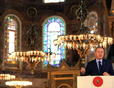 Эрдоган поделился чувствами от чтения Корана в бывшем православном храме