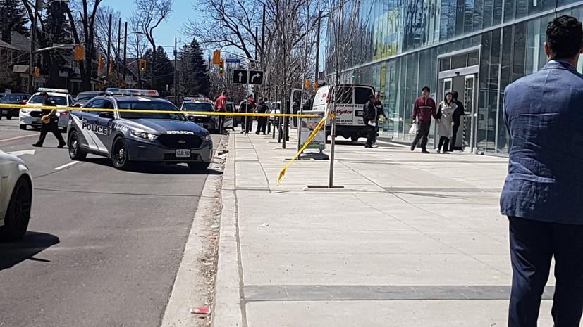 Минассян протаранил толпу в Канаде, десять погибших (ВИДЕО)