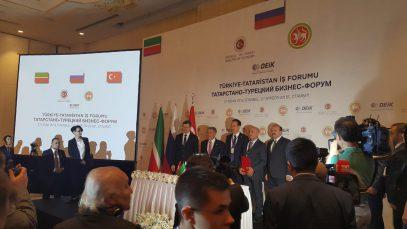 Минниханов  построит татарскую школу в Турции