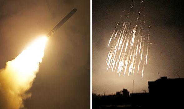 """В Сирии оружейные склады атакованы """"вражескими ракетами"""" (ВИДЕО)"""
