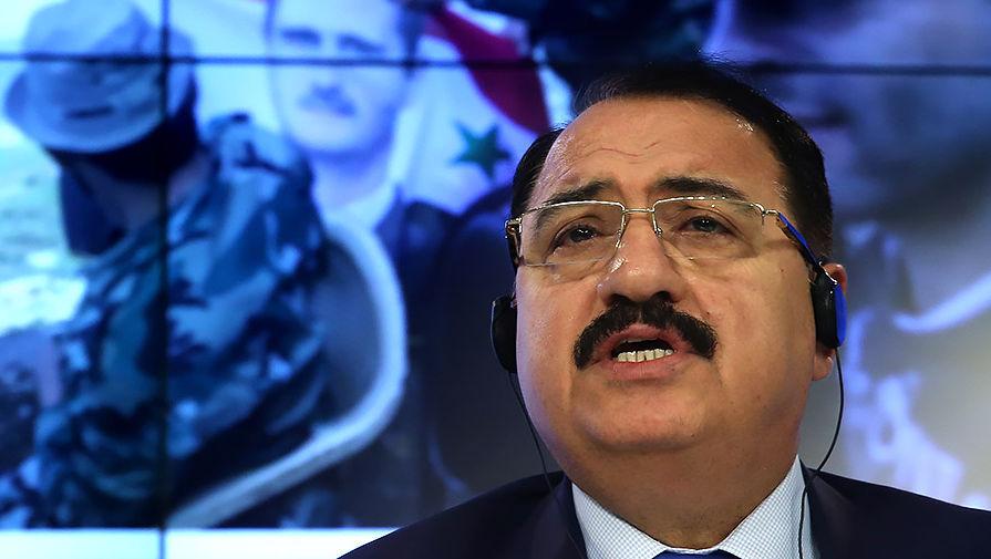 Посол Сирии в Москве Рияд Хаддад