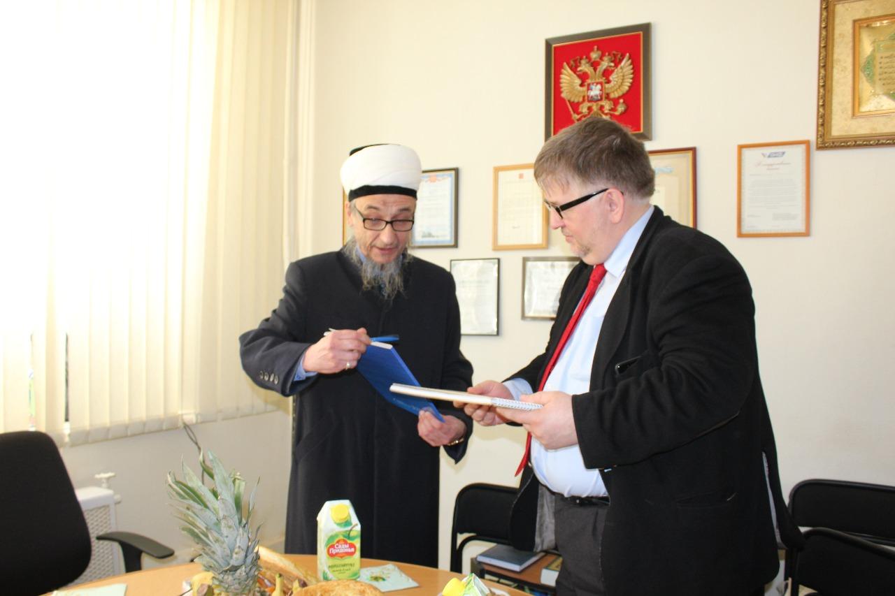 История ислама Артура Вагнера похожа на мою – муфтий Екатеринбурга