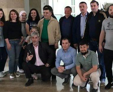 Кабаев собрал бизнесменов в Алании и сыграл в футбол