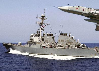 Американский эсминец Donald Cook