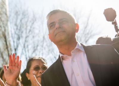 Мэр Лондона встретил Джастина Трюдо по Сунне (ФОТО)