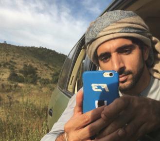 Наследный принц Дубая умилил соцсети своим поступком на пляже (ВИДЕО)