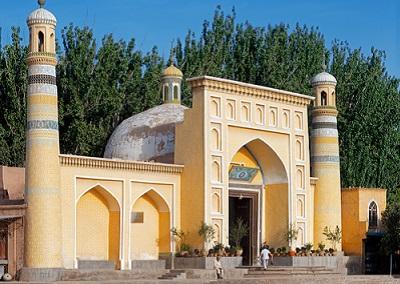 Мечеть в провинции Синьцзян