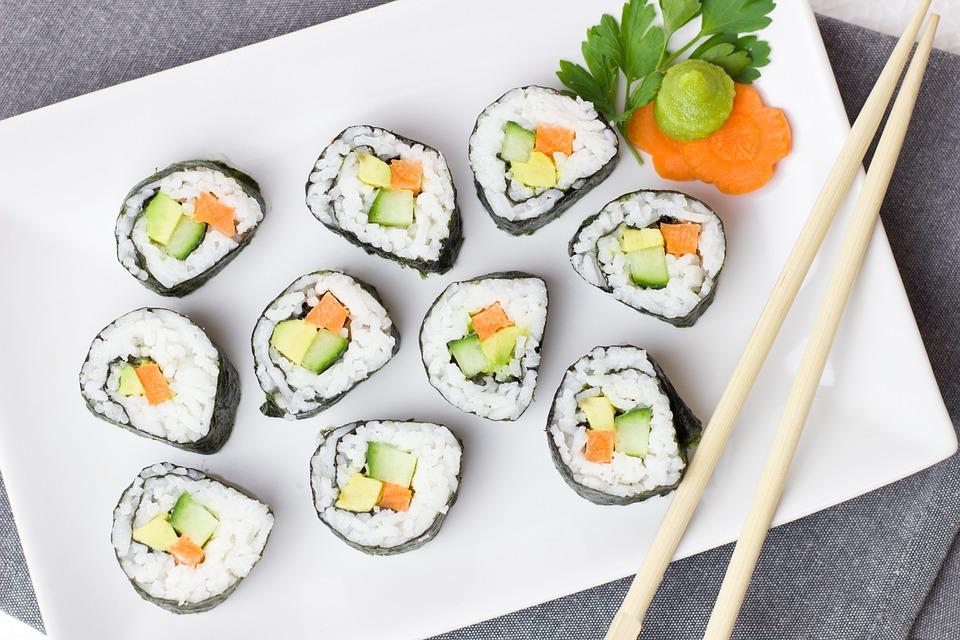 Удобство заказа вкусных суши по нужному адресу