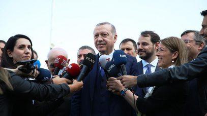 Эрдоган обратился с наставлениями к Трампу и Путину