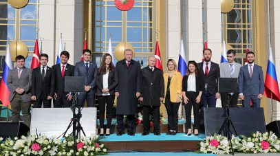 При фотографировании Путина и Эрдогана произошел пикантный курьез (ФОТО)