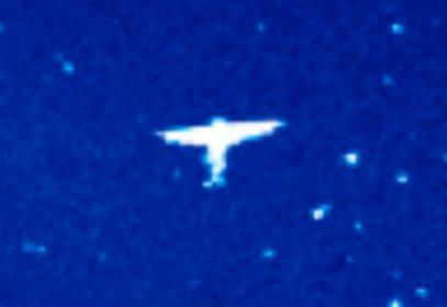 NASA обнародовала снимок ангела размером в миллионы километров (ВИДЕО)